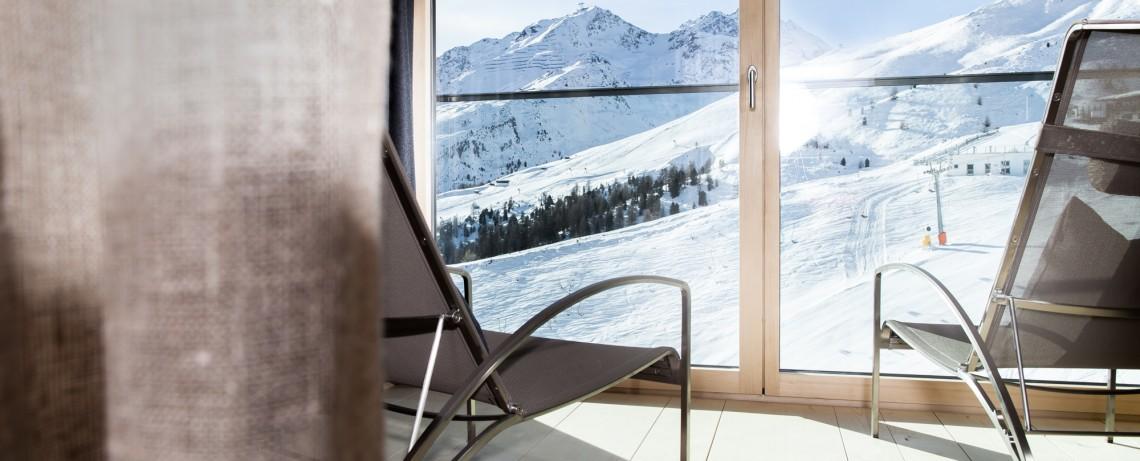 Panoramablick vom Kobel ins Skigebiet
