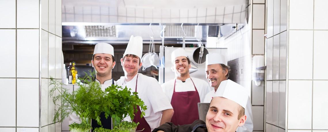 Die verantwortlichen für kulinarische Highlights im Winterurlaub