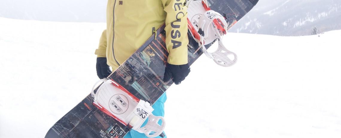 Snowboarden in Hochsölden