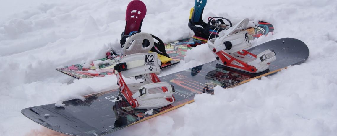 Snowboarding in Hochsölden