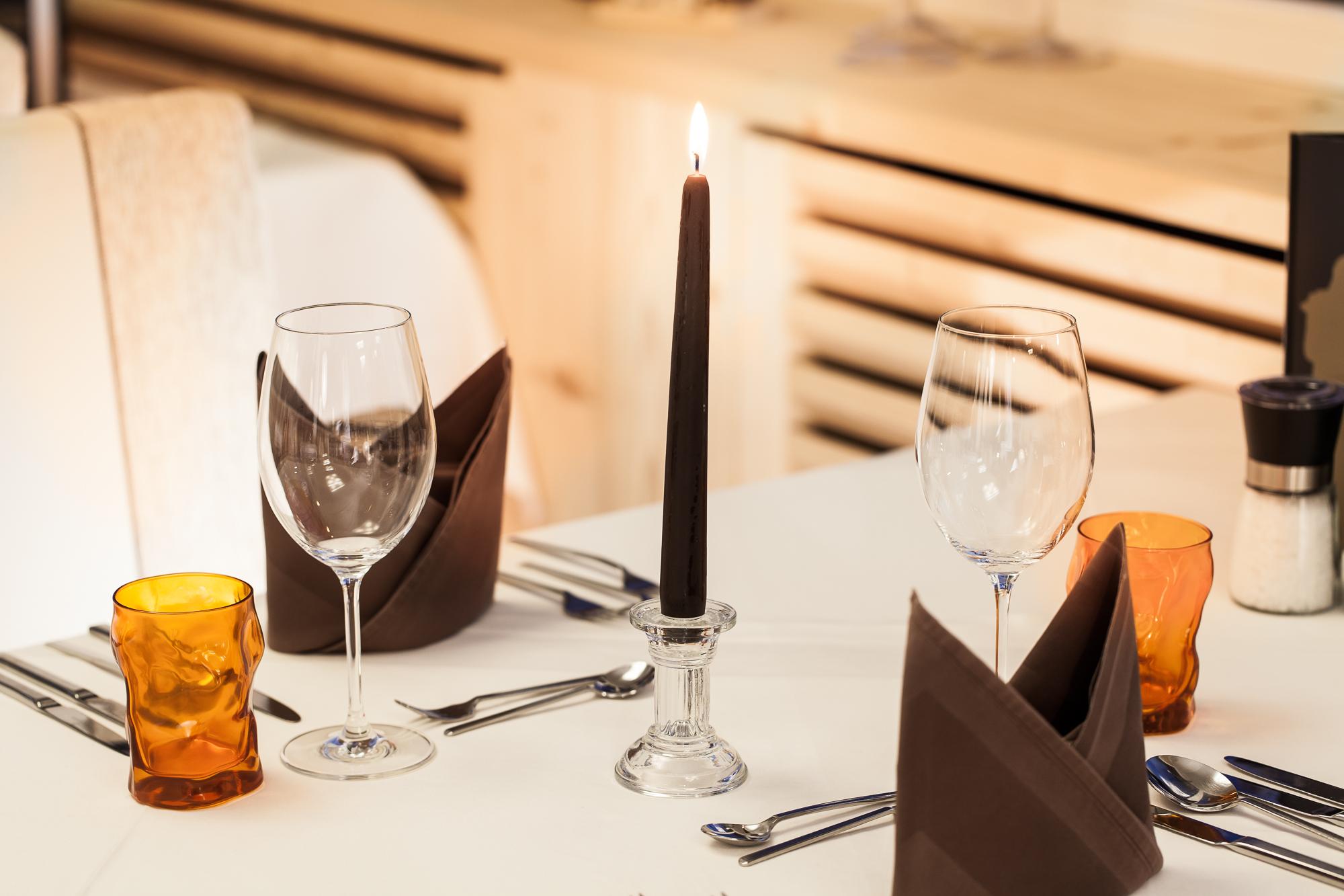 Abendessen im Hotel Alpenfriede
