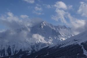 Berge und Skifahren in Hochsölden