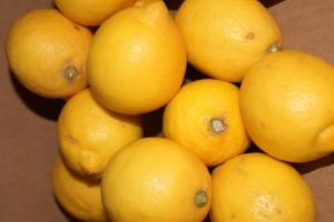 Zitronen als Rezeptzutat
