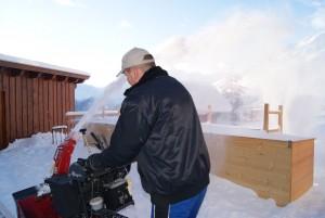 Hotel Alpenfriede in der Wintersaison