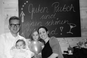 Martina und Gregor mit Ihren Kindern