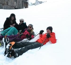 Schneeschuhwandern in Hochsölden