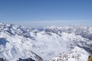 Ein Teil der Ötztaler Alpen
