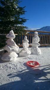 Schnee in Hochsölden