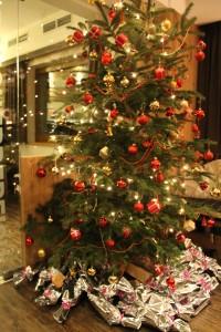 Weihnachtsabend im Café