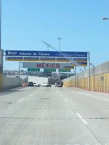 Grenze zwischen Amerika und Mexiko
