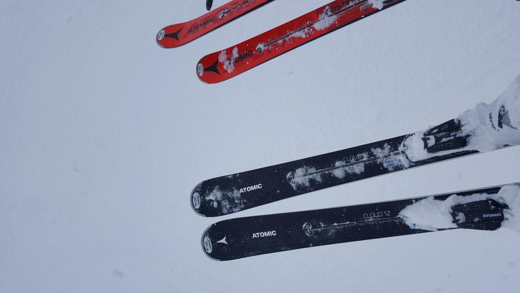 Atomic Ski Test
