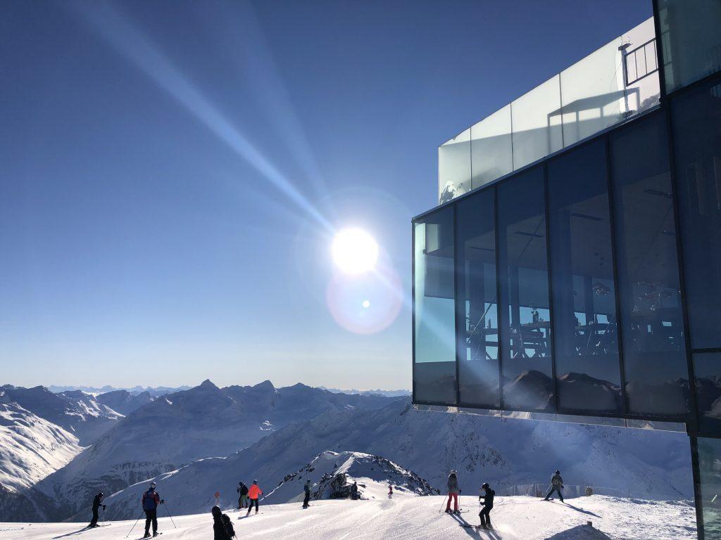 Ice Q auf über 3000m