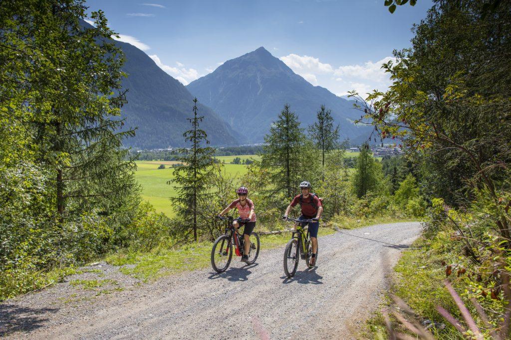 Fahrrad fahren im Ötztal