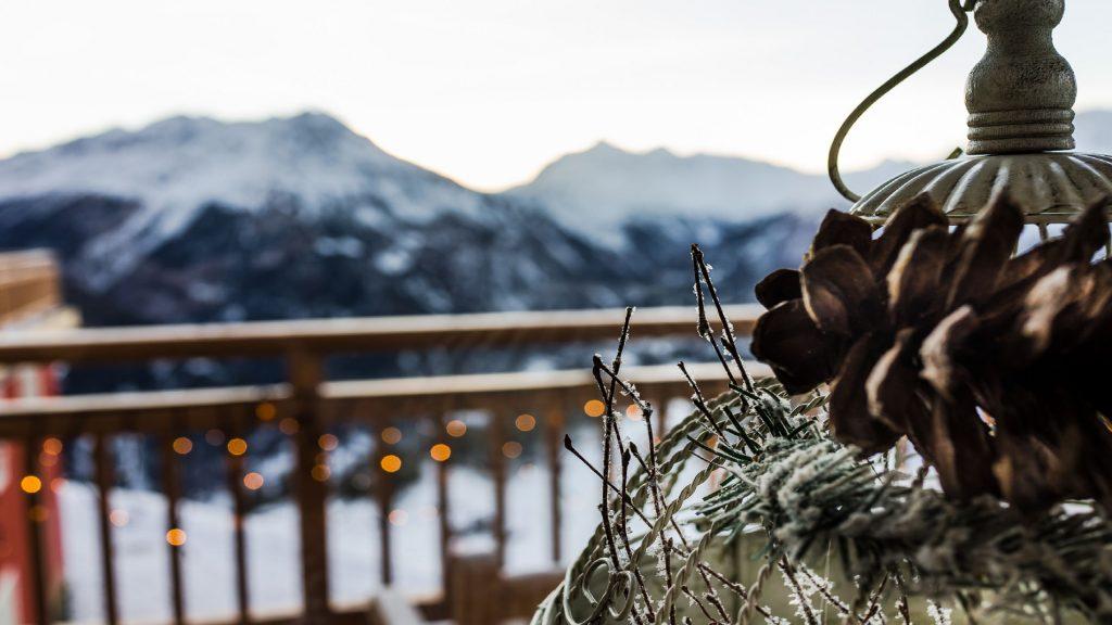 Ausblick auf die Ötztaler Berge