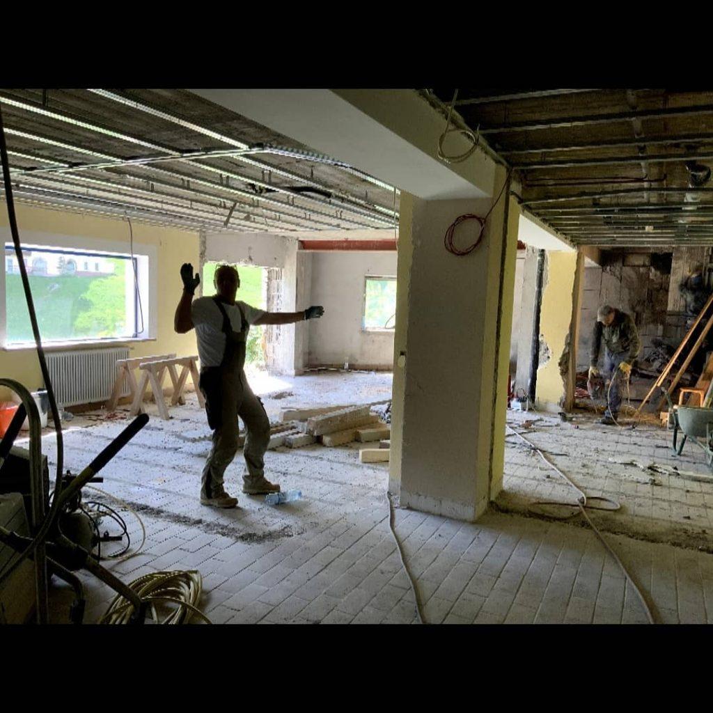 Baustellenkontrolle