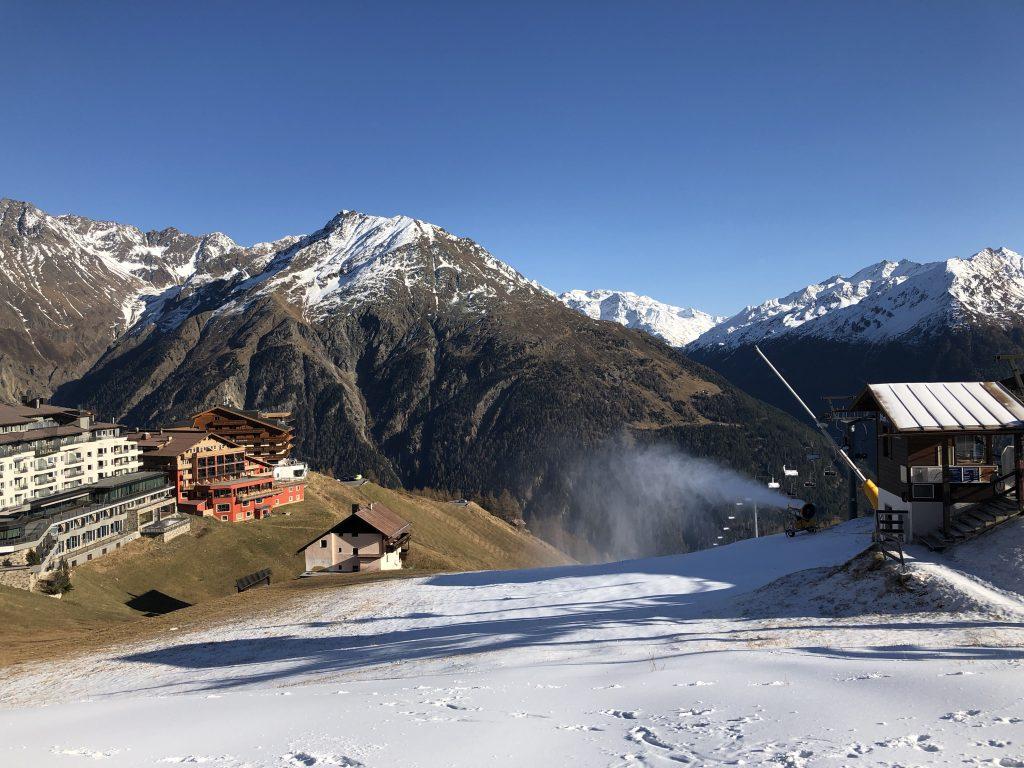 Jahreszeiten im Alpenfriede